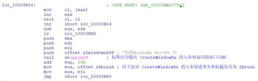 CreateWindowEx Hook 过程
